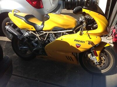 1999 Ducati Supersport  Classic 900SS. Very rare.