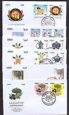 Libya 2017 - FDCs Year 2017  - MNH** Excellent Quality