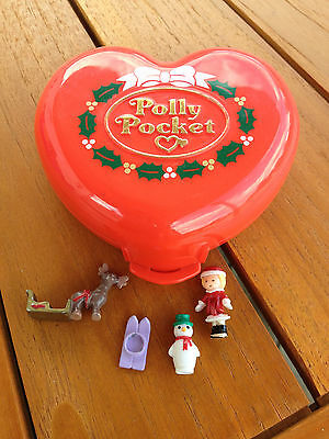 Polly pocket Christmas noël 100 % complet 1989