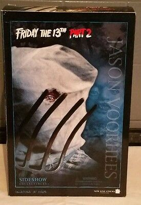 """Sideshow Collectibles * Friday the 13th Part 2 * Jason Voorhees 12"""" Figure * RAR"""