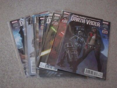 DARTH VADER issues 3-12 1st First Print 1ST VOL 1 NM STAR WARS MARVEL COMIC