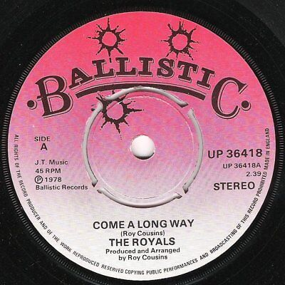 ♫ LISTEN - THE ROYALS - Come A Long Way