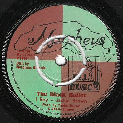 ♫ LISTEN - I Roy - THE BLACK BULLET (Cleopatra Jones, Blaxploitation movie)