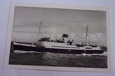 Maritime Real Photograph of Mona's Queen 1955. I.O.M Steam Packet Company