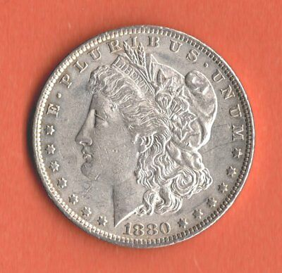 1880 Morgan Dollar Silver - New Orleans