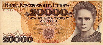 Banknote Of Poland