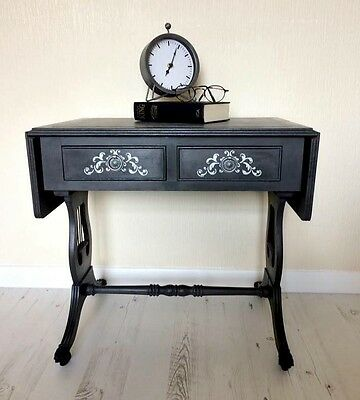 Reproduction Lyre Sofa Table (Low height)