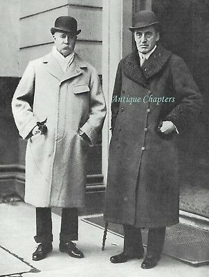 Lord Londonderry Sir Edward Carson Ulster Club Belfast 1912 Photo Article
