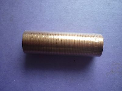 ROYAL MINT - UNOPENED ROLL OF 50 x UNCIRCULATED 1971 FIRST ISSUE HALFPENCE COINS
