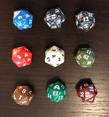 9 Magic the Gathering Lebenspunktezähler Life Counter Dice Würfel
