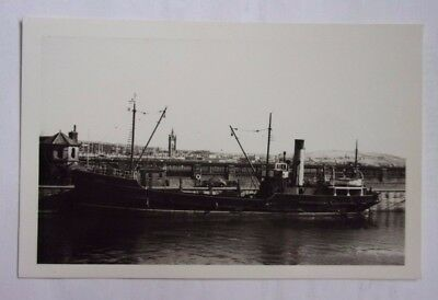 Maritime Real Photograph of CONISTER 1955. I.O.M Steam Packet Company