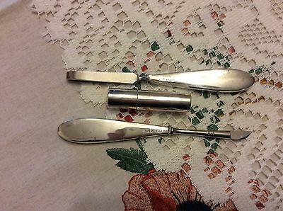 Antique Sterling Silver Manicure Tools