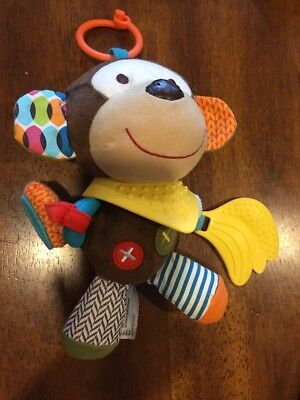 Skip Hop Milo The Monkey Infant Toy