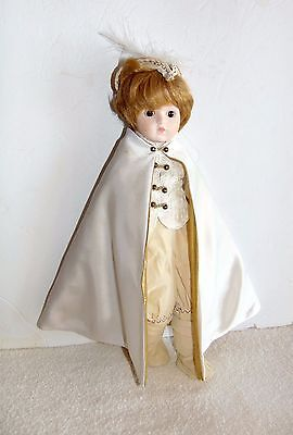 "San Francisco Music Box Company - 15"" Porcelain Doll - Some Enchanted Evening"