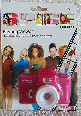 Spice Girls - Key ring Viewer -1997  Mini Camera Viewer Unique - New