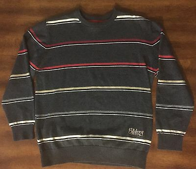 Billabong Youth Striped Sweater- Size LARGE