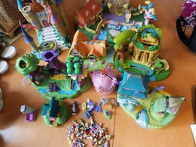 Huge Vintage Polly Pocket Bundle, Bluebird Disney Rare Figures