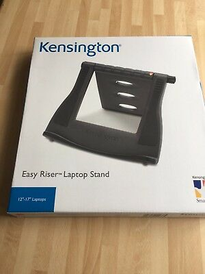 """Kensington Easy Riser Laptop Stand fits 12""""-17"""",new in box"""
