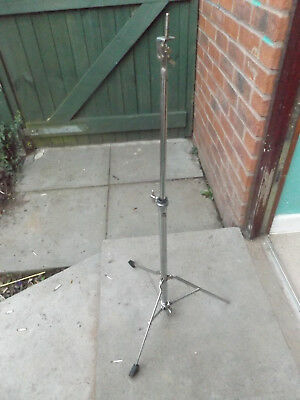 Vintage light weight straight cymbal stand.