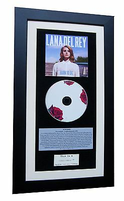 LANA DEL REY Born To Die CLASSIC CD Album FRAMED+EXPRESS GLOBAL SHIP+Video+Jeans