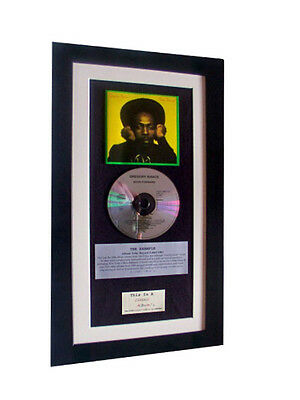 GREGORY ISAACS Soon Forward CLASSIC CD GALLERY QUALITY FRAMED+FAST GLOBAL SHIP