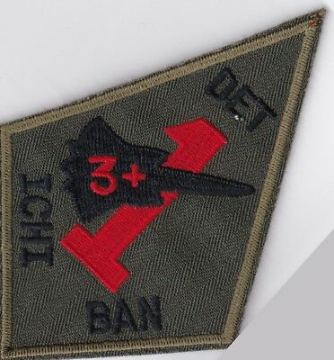 USAF air force 9th SRW DET 1 3+ ICHI BAN Kadena AB Okinawa Japan patch