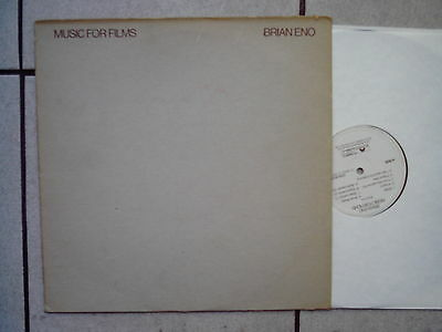 Brian Eno – Music For Films - LP  1978 (Robert Fripp,Fred Frith,...)