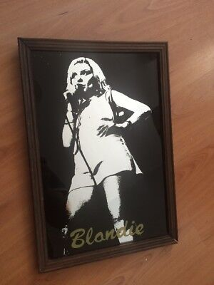 Blondie Debbie Harry Mirror Vintage 1970's