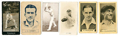 6 Rare Cards From  Various Scarce Series
