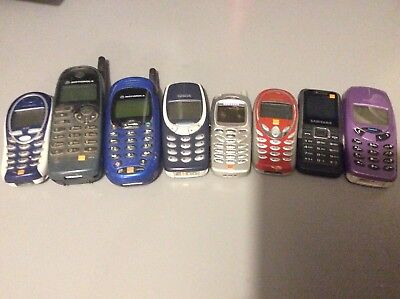 Various mobile phones for parts only