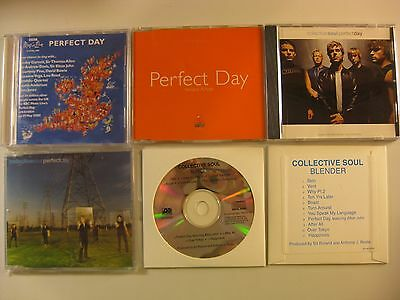 Collective Soul Elton John PERFECT DAY 6-CD assembled lot