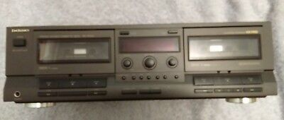 Technics Rs-Tr333 Stereo Double Cassette Deck