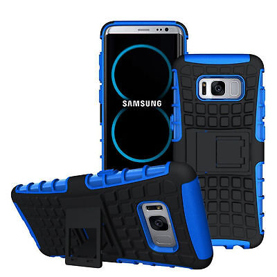 Heavy Duty Armour Shock Proof Builders Hard Case Cover Samsung Galaxy 6 7 8 9