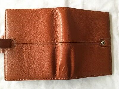 FILOFAX/ORGANISER-FINCHLEY POCKET Gorgeous CARAMEL Rare Deluxe Grain Leather