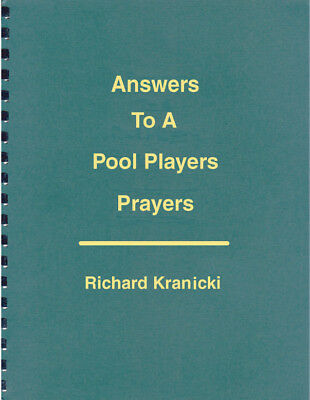 ANSWERS TO A POOL PLAYER'S PRAYERS - OUT OF PRINT! SIGNED by the Author