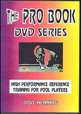 PRO BOOK DVD SET - Maximize Your Competitive POOL & BILLIARD Performance! 4 DVDs