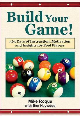BUILD YOUR GAME! - 365 Daily POOL Lessons - Strategy and Technique!  - hardcover