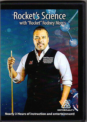 ROCKET'S SCIENCE with Hall of Fame Rodney Morris - POOL & BILLIARDS INSTRUCTION!
