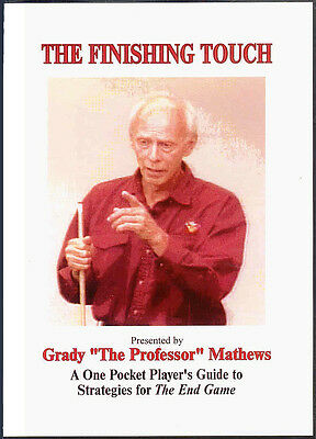 Grady Mathew's The FINISHING TOUCH POOL DVD - The One-Pocket End Game Moves!