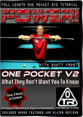 POWER ONE POCKET DVD - VOLUME 2 - More Great Instruction from SCOTT FROST