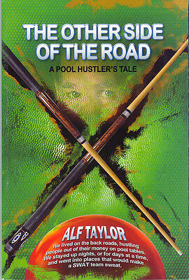 Alf Taylor - The Other Side Of The Road! - Pool Book - True Road Stories! -