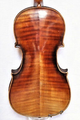 "Sehr alte 4/4 Geige lab. ""A. PEDRINELLI CRESPANO 1845"" - Very old violin"