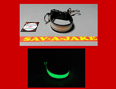 Sav-A-Jake Firefighter Glow/Reflective Glove Strap Quick Release - Black