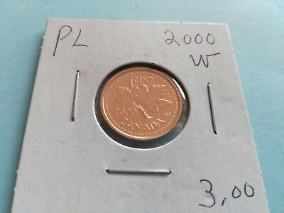 Rare 2000W Penny, from Proof Like Set!