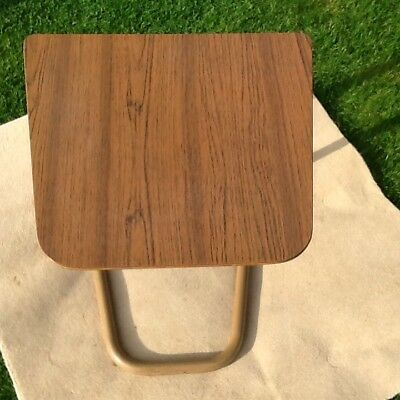 Vintage Staples Adjustable Cantilever Bed / Chair Table.
