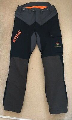 STIHL HIFLEX PROFESSIONAL CHAINSAW AND CLIMBING TROUSERS Size L