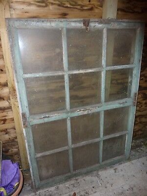 Large Wooden Window for Summer house Garden Project DIY 114cm x 154 cm