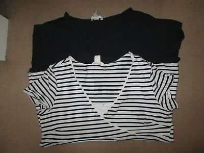 Lovely Size 18-20 Maternity/nursing Tops See Pics!!