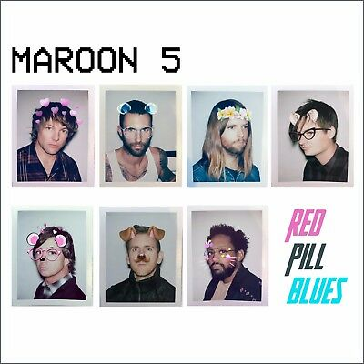 Maroon 5 - Red Pill Blues - New Deluxe CD Album