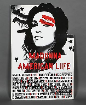 Madonna American Life BIG STAND UP Display Promotion Rare Promo Standee 2003 NEW